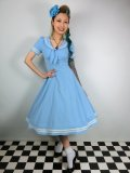 ☆HELL  BUNNY☆Ambleside Dress Pastel Blue 11号