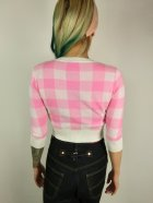 他の写真3: ☆Collectif☆LUCY GINGHAM CARDIGAN Pink 15号