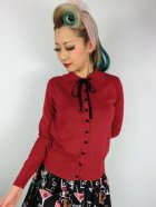 他の写真1: ☆Collectif☆ANDI LONGLINE CARDIGAN Red 11号