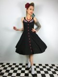 ☆HELL BUNNY☆Lulu Dress Black 9号