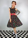 ☆Heart of Haute☆Amanda Dress-CherryDot (M)11号