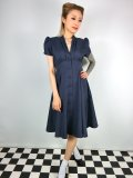 ☆Heart of Haute☆Manhattan Dress - Navy (M)11号