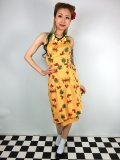 ☆Collectif☆LEELU PINEAPPLE & PALM SARONG DRESS 13号