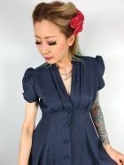 他の写真2: ☆Heart of Haute☆Manhattan Dress - Navy (S)9号