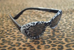 画像2: Cat Eye Shades - Leopard Prints