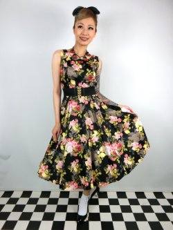画像1: ☆H&R☆Cameo Rose  Dress 11号