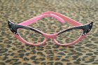 他の写真1: Vintage Style Glasses - Pink and Black