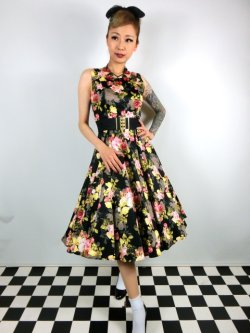 画像2: ☆H&R☆Cameo Rose  Dress 11号