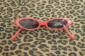 Kid's Cat Eye Shades - Red
