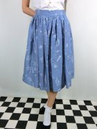 他の写真1: ☆Collectif☆ JASMINE SEASHELL DENIM SKIRT  17号