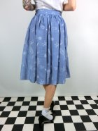 他の写真3: ☆Collectif☆ JASMINE SEASHELL DENIM SKIRT  15号