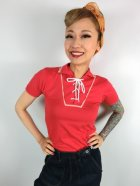 他の写真1: ☆Freddies of Pinewood☆Red Boyfriend Top (M)  11号