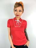 ☆Freddies of Pinewood☆Red Boyfriend Top (XL)  15号