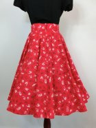 他の写真3: ☆Heart of Haute☆Circle Skirt - Music Notes Red (S)11号