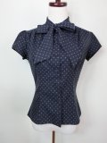☆Heart of Haute☆ Estelle Blouse - Cross Stitch Midnight(S)9号