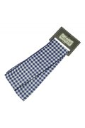☆Collectif☆  GINGHAM SASH SCARF Navy