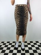 他の写真1: ☆HELL BUNNY☆Panthera Pencil Skirt Leopard(S)11号