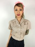 ☆Freddies of Pinewood☆Fawn Work Blouse (UK10)  11号