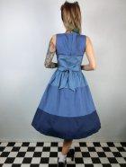 他の写真3: ☆Lindy Bop☆Audrey Blue Striped Swing Dress 13号