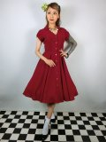 ☆HELL BUNNY☆Keely Dress Red 13号