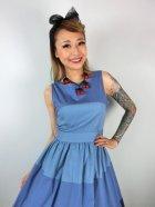 他の写真2: ☆Lindy Bop☆Audrey Blue Striped Swing Dress 13号