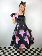 他の写真1: ☆Collectif☆  VINTAGE LINETTE ORCHID SWING DRESS 15号