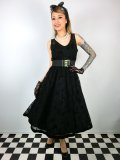 ☆HELL BUNNY☆Amarande Dress Black 9号