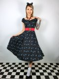 ☆Collectif☆  DOLORES ROCKABILLY SWALLOWS DOLL DRESS 9号