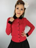 ☆Collectif☆ IMOGEN CARDIGAN Red 7号