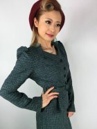 他の写真2: ☆Collectif☆DIANA ELVEDEN CHECK BLAZER 17号