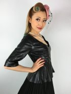 他の写真2: ☆Collectif☆DITA PU PEPLUM TOP 13号