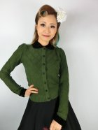 他の写真1: ☆Collectif☆ IMOGEN CARDIGAN Olive Green 17号