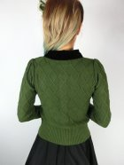 他の写真3: ☆Collectif☆ IMOGEN CARDIGAN Olive Green 9号