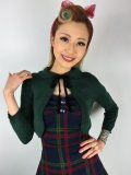 ☆Collectif☆Andi Knitted Bolero Green 15号