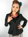 ☆Collectif☆VINTAGE MERYL SUIT JACKET Black 15号
