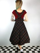 他の写真3: ☆Collectif☆NATALIA WARM CHECK SWING SKIRT Black 7号