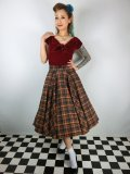 ☆Collectif☆ODETTE HIGHLAND MIDI SKIRT 15号