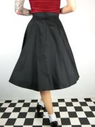 他の写真3: ☆Collectif☆STELLA SWING SKIRT Black/Red 17号