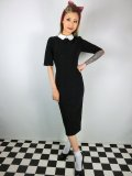 ☆Collectif☆  WINONA PENCIL DRESS Black 11号