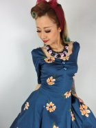 他の写真2: ☆Collectif ☆VINTAGE DOLORES DOLL HALF SLEEVE APRICOT DRESS 13号