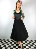 ☆Collectif☆ MELISSA SWING DRESS Black 15号