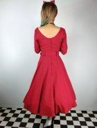 他の写真3: ☆Collectif ☆ IVY CREPE SWING DRESS Red 11号