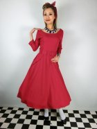 他の写真1: ☆Collectif ☆ IVY CREPE SWING DRESS Red 11号