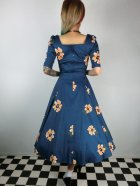 他の写真3: ☆Collectif ☆VINTAGE DOLORES DOLL HALF SLEEVE APRICOT DRESS 11号
