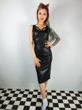 ☆Collectif☆JULIA PU PENCIL DRESS Black 9号