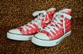 ☆Lindy Bop☆Red Polka Dot Hi-Top Sneakers UK6(日本サイズ 約24.5cm)