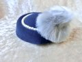 ☆Collectif☆ AGATHA FAUX FUR HAT- Navy