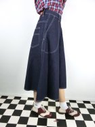 他の写真2: ☆Freddies of Pinewood☆Blue Denim Jeans Skirt (24インチ) 7号