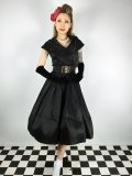 ☆Lindy Bop☆Amber Black Occasion Dress 9号