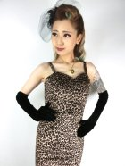 他の写真2: ☆Collectif☆DELILAH LEOPARD VELVET MAXI DRESS 9号